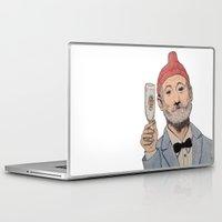 zissou Laptop & iPad Skins featuring Zissou by The A B Project