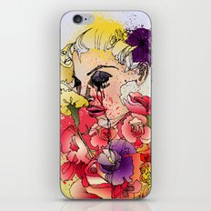 When the Petals Start Pouring iPhone & iPod Skin