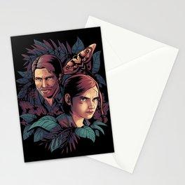 Lose Myself Ellie and Joel Last of Us Stationery Cards