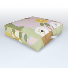 Violet Lamp Outdoor Floor Cushion