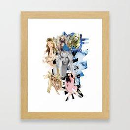 B Eras Framed Art Print