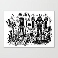 Big Babu long lasting dub Canvas Print