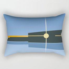 Backwater Dawn Rectangular Pillow