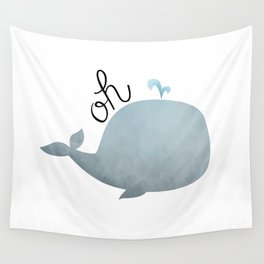 Oh Whale Wall Tapestry