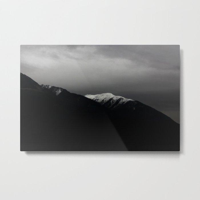 Don't stop / mountain photo art print / mountain poster Metal Print