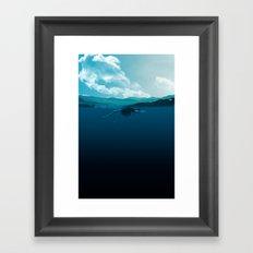 Falling Under Framed Art Print