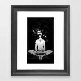 Whirl Framed Art Print