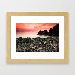 Ionian sea Framed Art Print