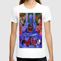 nirvana T-shirts featuring Reaching Nirvana Gautama Buddha by Joseph Mosley