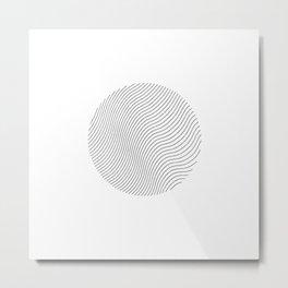 Ellips Metal Print