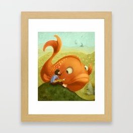 Big Idea Framed Art Print
