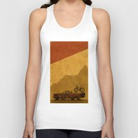 adventure Tank Tops featuring Adventure by barmalisiRTB