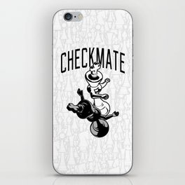 Checkmate Punch Funny Boxing Chess iPhone Skin
