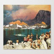Turistas (2010/2017) Canvas Print