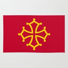 Midi Pyrenees france country region flag Rug
