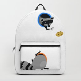 Racoon and cookie Backpack