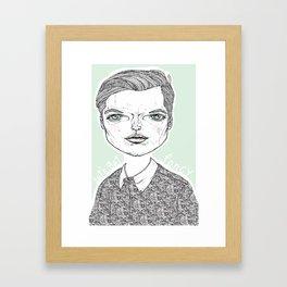 Fancy Boy Framed Art Print