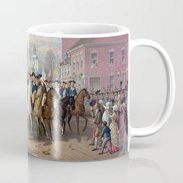 General Washington Enters New York Coffee Mug