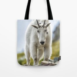 The Ups and Downs of Being a Mountain Goat No. 3 Tote Bag