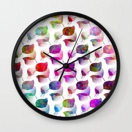 Color Craze Wall Clock