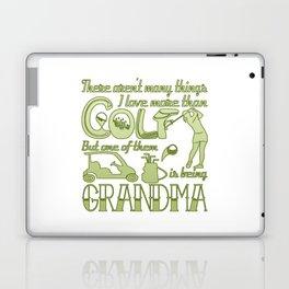 Golf Grandma Laptop & iPad Skin
