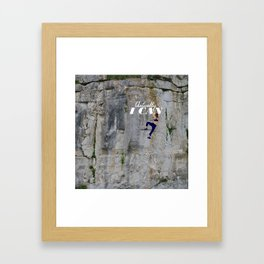 Actually . . . I CAN Framed Art Print