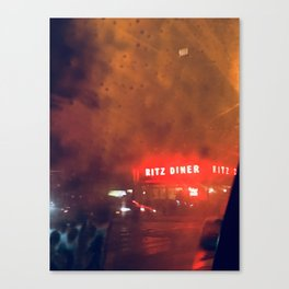 Ritz Diner New York City Canvas Print