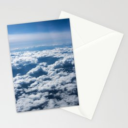 Flying Over California Stationery Cards