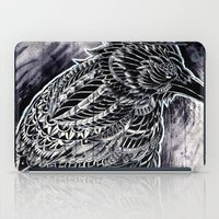 raven iPad Cases featuring Raven by BIOWORKZ