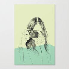 Woman Color 11 Canvas Print