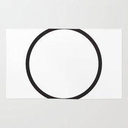 Minimal Circle Rug