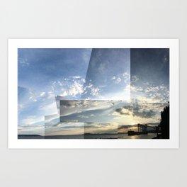 Seattle Sky Art Print