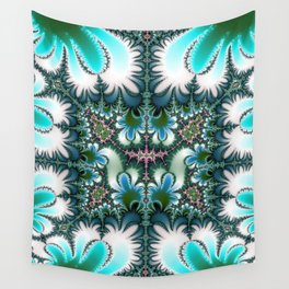 Fractal Rectangle Wall Tapestry