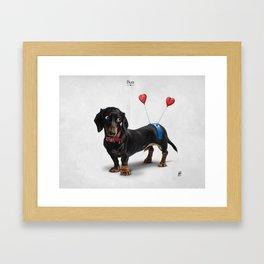 Butt Framed Art Print