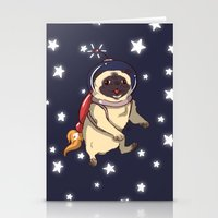 interstellar Stationery Cards featuring Interstellar by Lixxie Berry Illustration