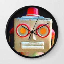 Vintage Robot Wall Clock