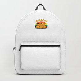 Funny Chicken Nuggets LGBT Backpack