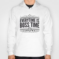 springsteen Hoodies featuring Every time is Boss time (Springsteen tribute) by My Brave Face