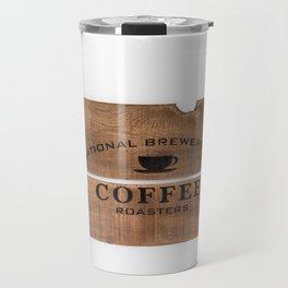 National Brewers Coffee Sign Travel Mug
