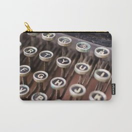 Antique typewriter keys Carry-All Pouch