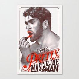 Pretty Masculine Canvas Print