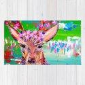 Deer Print by cathyjacobs