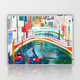 Canal in Venice Laptop & iPad Skin