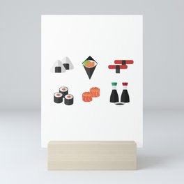 Sushi Day Mini Art Print