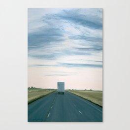 CA Truck Canvas Print