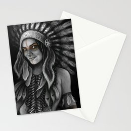 Tribe Girl Stationery Cards
