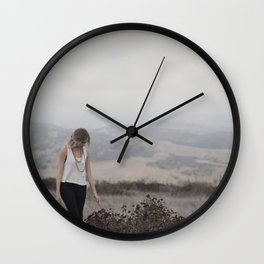 The Road Not Taken Wall Clock