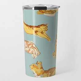 Various cats Travel Mug
