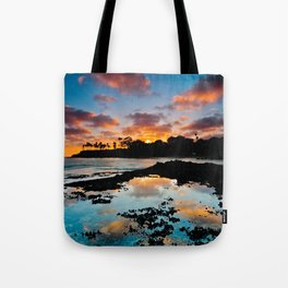 Laguna Beach Sunset 6/17/14 Tote Bag