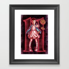 Eleven Framed Art Print